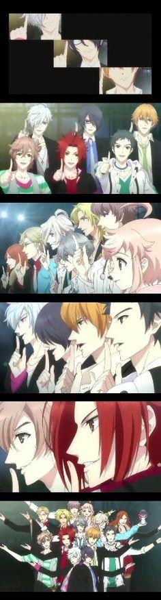Natsume, Tsubaki, Azuza, Yuusuke, Iori, Louis, Kaname, Masaomi, Kaname, Ukyo, Hikaru, Wataru & Fuuto