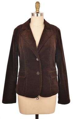 Jacqui-e Brown Blazer Size 12 | ClosetDash #fashion #style #jackets