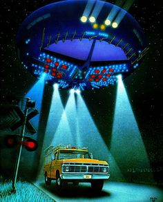 Close Encounters of the Third Kind - art Ralph Fowler (1978)