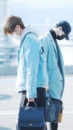 Bts airport fashion suga taehyung taegi