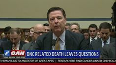 DEMOCRATIC NATIONAL  COMMITEE (DNC) RELATED DEATHS LEAVES QUESTIONS ? - Deaths of Seth Conrad Rich & John Ashe - OAN 7-28-2016