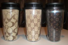 louis vuitton coffee cups | Design » Designer Inspired Coffee Travel Mug
