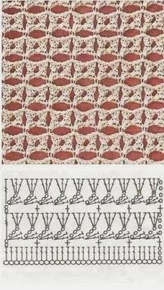 Watch This Video Beauteous Finished Make Crochet Look Like Knitting (the Waistcoat Stitch) Ideas. Amazing Make Crochet Look Like Knitting (the Waistcoat Stitch) Ideas. Crochet Stitches Chart, Crochet Motifs, Crochet Diagram, Tunisian Crochet, Knitting Stitches, Free Crochet, Knitting Patterns, Crochet Patterns, Stitch Crochet