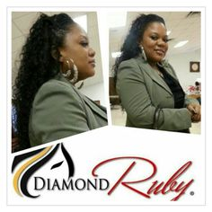 Want to achieve this look. @DiamondRubyHair. Shop online to see how you can get $100 off www.DiamondRubyHair.com