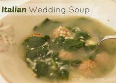RECIPE: Italian Wedding Soup.  very similar to East Side Mario's recipe!