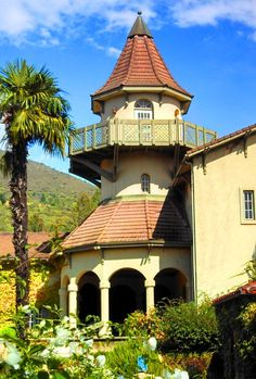 Stroll peaceful gardens with a glass of fine chardonnay from a Sonoma Valley classic - Chateau St. Jean