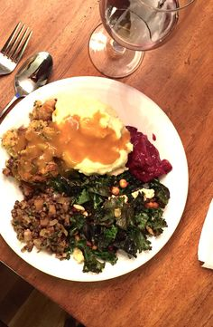 How to plan and cook a crowd-pleasing meatless Thanksgiving menu Thanksgiving Menu, Kale Salad, Lentils, Crowd, Natural, Cooking, Ethnic Recipes, Holiday, Kitchen