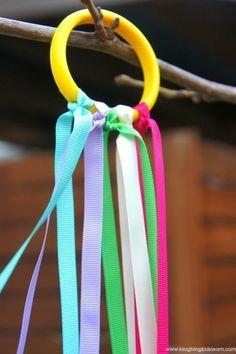 Come realizzare degli anelli arcobaleno per giochi di musica in movimento - LaughingKidsLearn | Educazione musicale per l'infanzia | Scoop.it