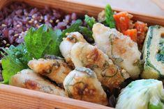 ワンボウルで楽チン鶏ささみの梅しそ唐揚げのお弁当