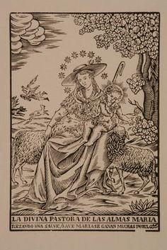 "***Ejemplo imagen de "" La divina pastora""."