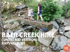 Baer Creek Hike | Kaysville | Adventurin' | The Salt Project | Things to do in Utah with kids