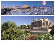 Like this picture if this is exactly where you want to be right now... In the pictures: The marina at Palma de Majorca; the gothic cathedral of Palma de Majorca, built between 1230 and 1601
