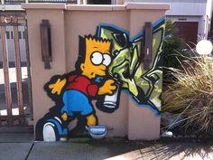 simpson graffiti street art (18)    www.liberatingdivineconsciousness.com