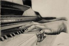 Playing Piano Drawing More like this – Musical instruments Drawing Piano, Painting & Drawing, Piano Art, Music Drawings, Pencil Art Drawings, Drawing Sketches, Jouer Du Piano, Art Therapy Activities, A Level Art
