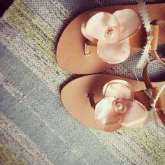 Flower power! #ecreation #sandals #greeksandals #flowersandals #bridalsandals #handmadesandals #etsyseller #etsyfinds #inspiration #instagoods #instalove #flowerpower #summer2017 #instasandals #blushpink #bridemaids #etsy #egst #egstyle #boho #blushsandals #etsygram #handcrafted #favehandmade #bridal #weddingstyle #fashion #fashionblogger #igers #instafollow