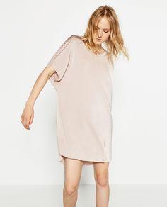 SHINY FLOWING DRESS