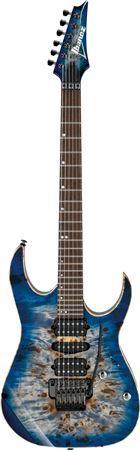 Ibanez Premium RG1070PBZ Electric Guitar with Gig Bag Guitar Amp, Cool Guitar, Guitar Images, Body Electric, Cerulean, Music Instruments, Blue, Electric Guitars, Sick
