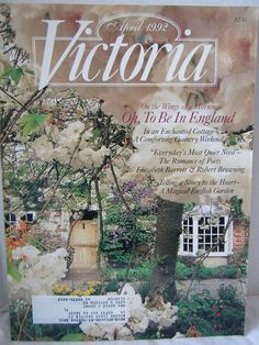 1000 images about victoria magazine bliss on pinterest victoria magazines and china food. Black Bedroom Furniture Sets. Home Design Ideas