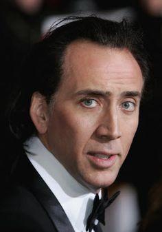 Nicolas Cage(Long Beach,California) Height: 6' (1.83 m)