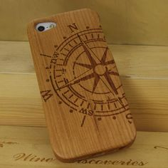 Real Nature Wood Case iPhone 5 wood case iPhone 5 case for iphone 5 Wooden Case iphone case iPhone cover. $25.00, via Etsy.