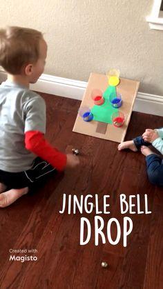 Preschool Christmas Activities, Toddler Activities, Preschool Activities, Autistic Toddler, Toddler Fun, Toddler Christmas, Christmas Games, Holiday Crafts For Kids, Fun Crafts
