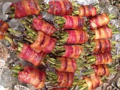 Bacon Wrapped Green Beans - McNack's Kitchen