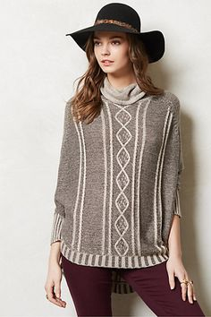 Delphine Poncho #anthropologie