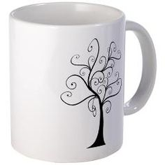 Swirly Tree Mug