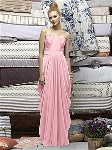 Lela Rose Style LR163 #pink #bridesmaid #dress