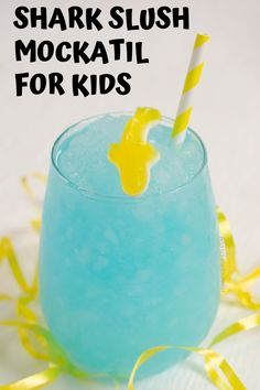 Create this deliciously fun mocktail recipe for kids. Having a party for New Year's? Or a kid's brithday party? They'll love having a non-alcoholic drink of their own. They can even make this mocktail recipe by themselves. It's that easy!