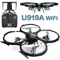 An extra battery Wifi FPV rc drone UDI U818a U919A upgrade version Remote Control Helicopter Quadcopter 6Axis Gyro attitude hode-in RC Helicopters from Toys & Hobbies #offroad #hobbies #design #racing #quadcopters #tech #rc #drone #multirotors