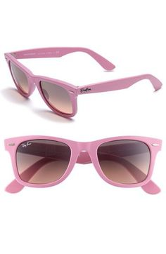 Pink Ray Bans   -- Get the latest eye wear fashions at https://designerframesoutlet.com/