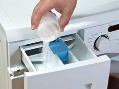 Rengöra tvättmskin