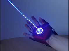 Dual Laser IRON MAN Glove (with sounds and ejecting shell) - YouTube