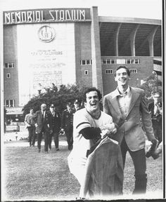 BOB MOOSE & BRUCE KISON 10/17/71: WORLD CHAMPIONS & ON THE WAY TO KISON'S WEDDING 1971 World Series, Wild Pitch, Bull Durham, Fourth World, Jolly Roger, Pittsburgh Pirates, World Championship, Days Out, Major League
