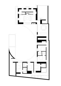 Ansião House,Ground floor plan