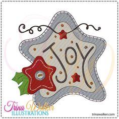 Emb Babies : Trina Walker, whimsical primitive embroidery designs