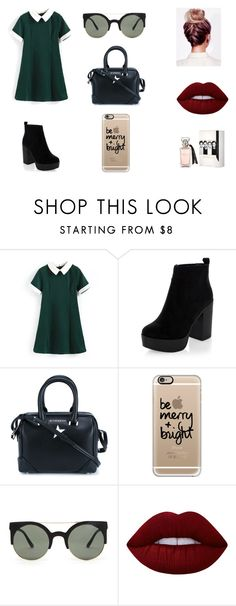 """Sin título #132"" by karenrodriguez-iv on Polyvore featuring moda, Givenchy, Casetify, Forever 21 y Lime Crime"