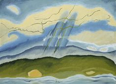 ARTHUR G. DOVE (1880–1946) Sun Drawing Water, 1933 Oil on canvas, 24 3/8 x 33 5/8 in.