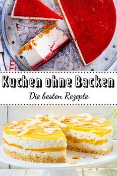 Im #Sommer lassen wir den Kühlschrank backen! Das Ergebnis sind unsere 30 besten #Rezepte für #Kuchen ohne Backen! #nobake
