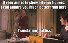 haha I love pride and prejudice