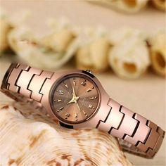 GUANQIN Quartz watches Fashion Watch Women Dress relogio feminino waterproof Tungsten Steel gold bracelet watches relojes mujer