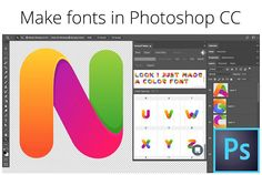 Fontself: Make fonts in Photoshop by Fontself on @creativemarket