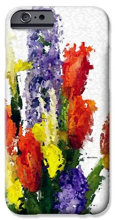 Abstract Flower 0801 IPhone 6s Case for Sale by Rafael Salazar