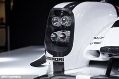 Abstract Extracts Of Geneva by Jonathan Moore / Porsche 919 Hybrid.