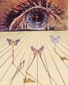 el ojo del tiempo dali