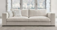 Sofa cushions in feather metal base Model Ozium - Désirée sofas
