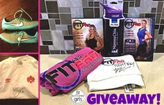 This Fit as a Pro giveaway really, ahem, *kicks* some butt! You know you wanna win ...
