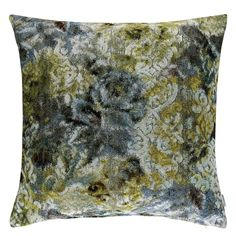 Forsyth Celadon Throw Pillow design by Designers Guild