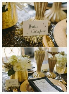 Every little detail lends itself to create the perfect tablescape